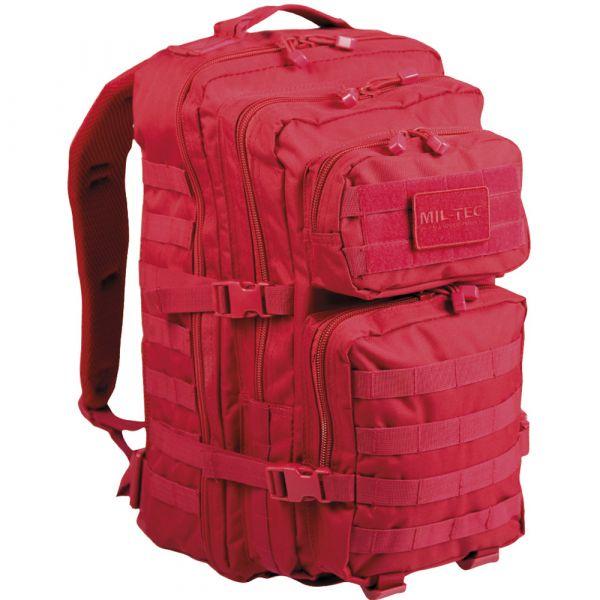 Mil-Tec Sac à dos US Assault Pack II rouge vif