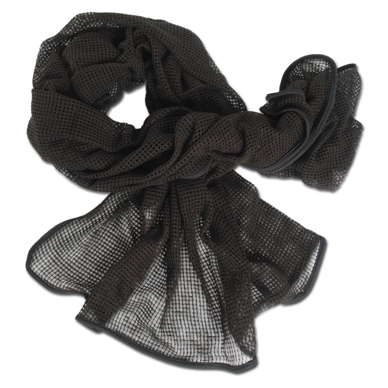 Écharpe sniper coton noir