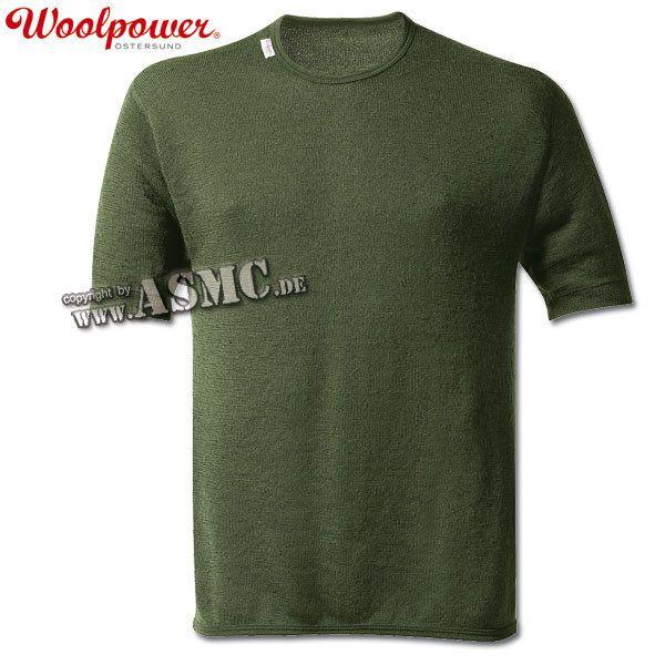T-shirt 200 Woolpower kaki