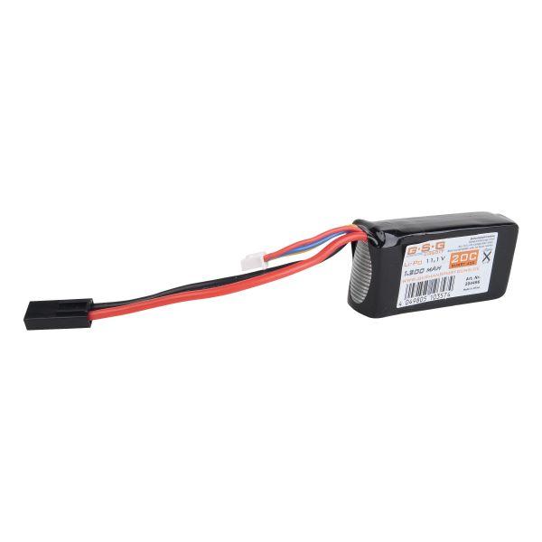 GSG Batterie Li-Po 11.1V 1200 mAh Type Petit