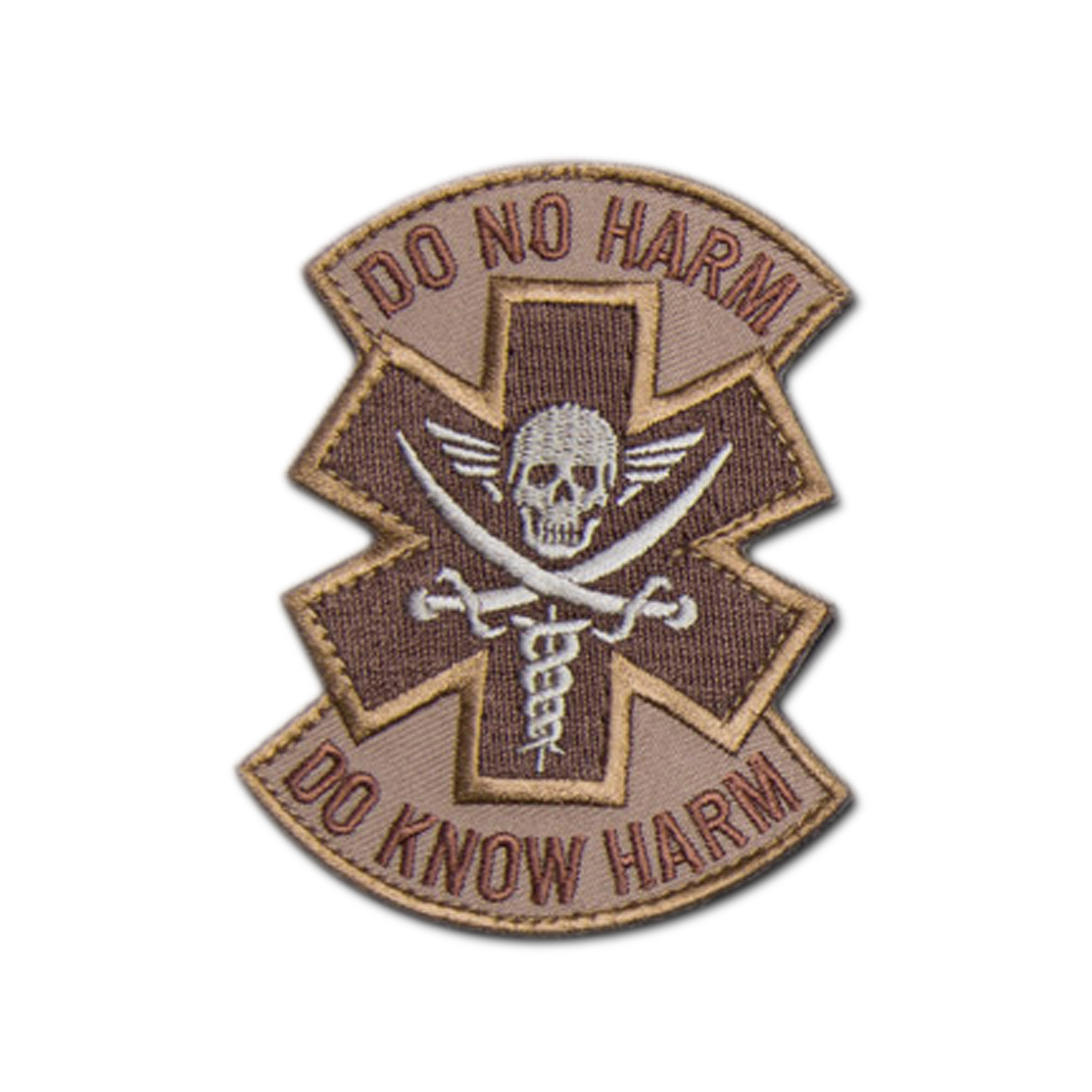 Patch MilSpecMonkey Do No Harm Pirate desert