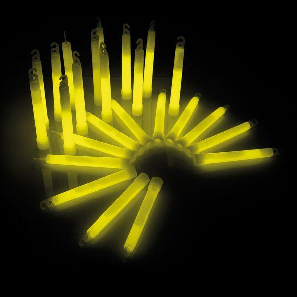 KNIXS Bâtons lumineux Power jaune lot de 25