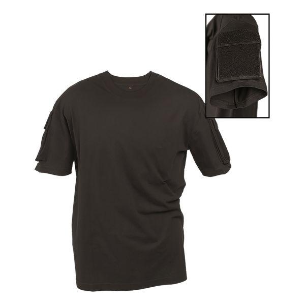 T-shirt Tactical Mil-Tec noir