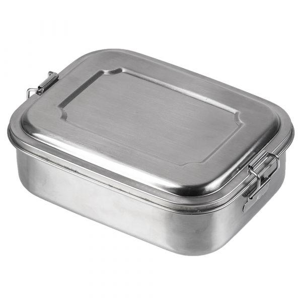 Mil-Tec Boîte repas acier inoxydable 18x14x6.5 cm