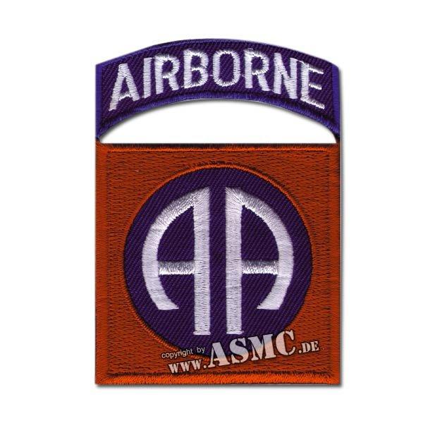 Insigne tissu US 82nd Airborne tab