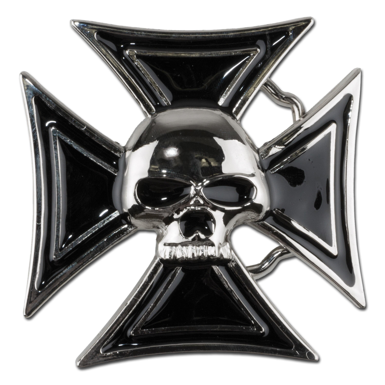 Boucle de ceinture Skull and Cross