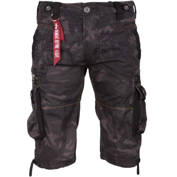 Shorts Alpha Industries Terminal C black camo