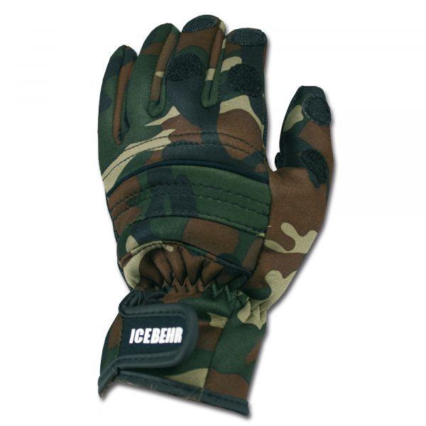 Gants de tir néoprène Power Grip camouflage