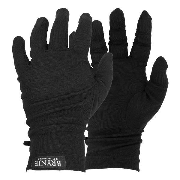 Gants Classic Wool Brynje noirs