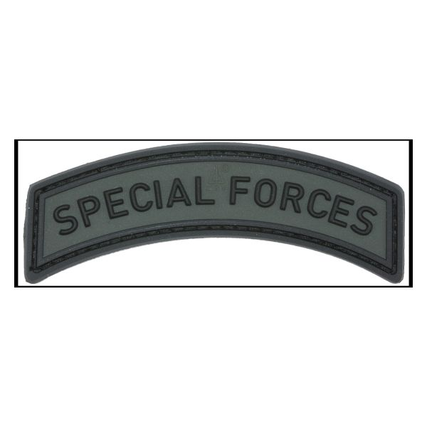 Patch 3D Special Forces Tab battlegrey