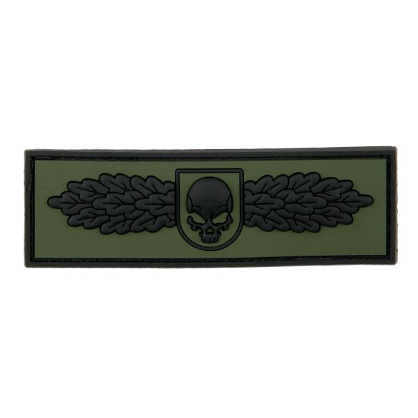 Patch 3D SOF Skull Badge forest