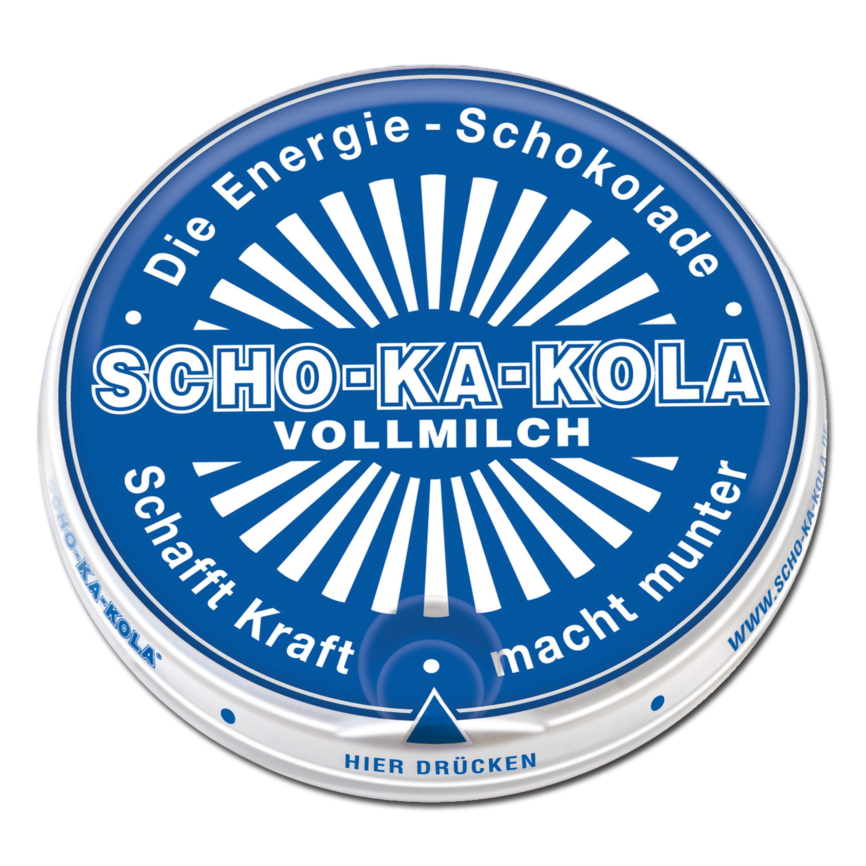 Chocolat énergisant au lait SCHO-KA-KOLA 100 g