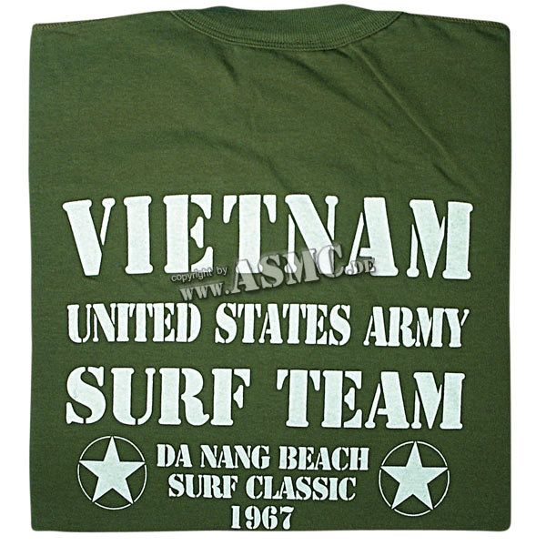 T-shirt Vietnam Surf Team kaki