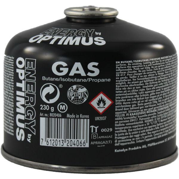 Optimus Tactical Gaz universel 230 g noir
