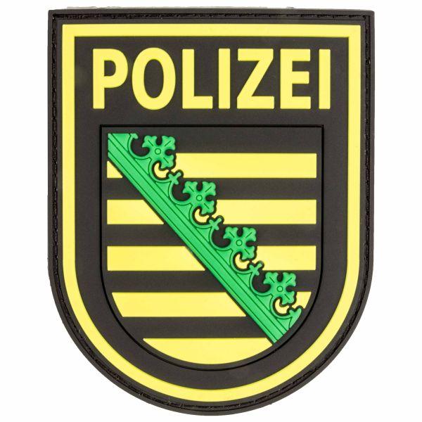 Patch 3D Polizei Sachsen fullcolor