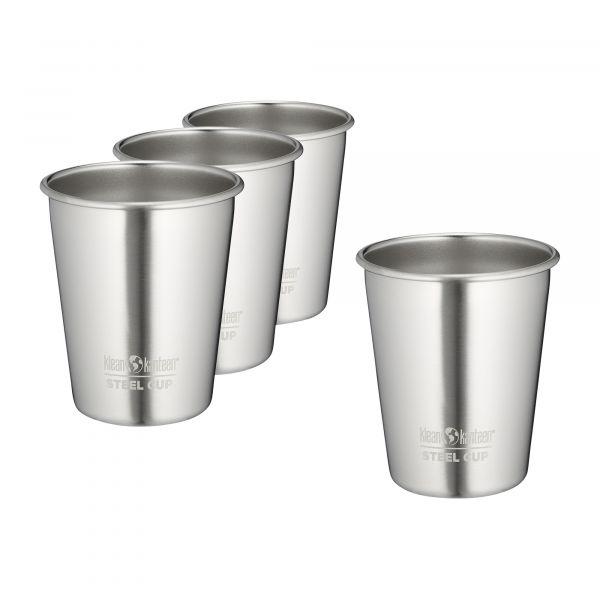 Klean Kanteen Gobelet Pint Cup inox brossé 295 ml lot de 4