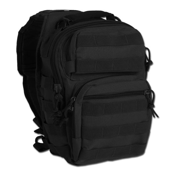 Sac à dos Assault Pack One Strap Small noir