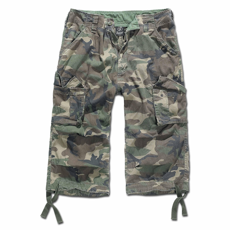 Shorts Brandit 3/4 Urban Legend woodland