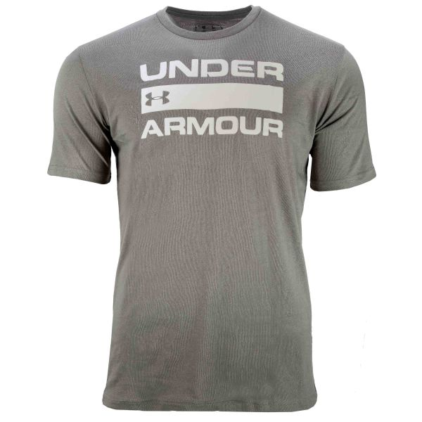Under Armour T-Shirt Team Issue Wordmark SS gravity green
