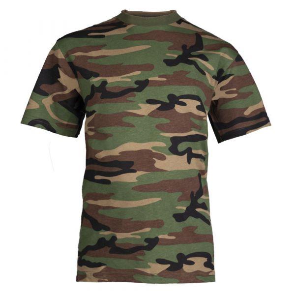 T-shirt pour enfants woodland