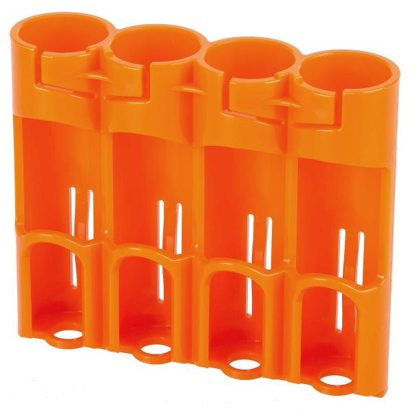 Porte-batteries Powerpax SlimLine 4 x 18650 orange
