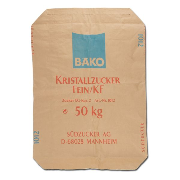 Sac en papier sucre christallisé 50 kg état neuf
