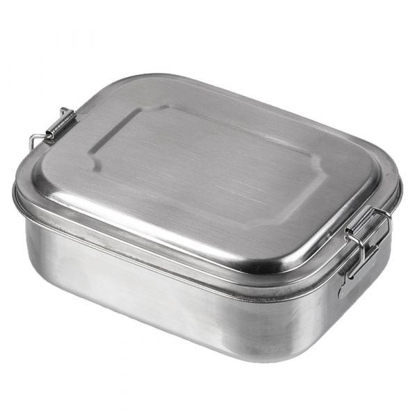 Mil-Tec Boîte repas acier inoxydable 16x13x6.2 cm