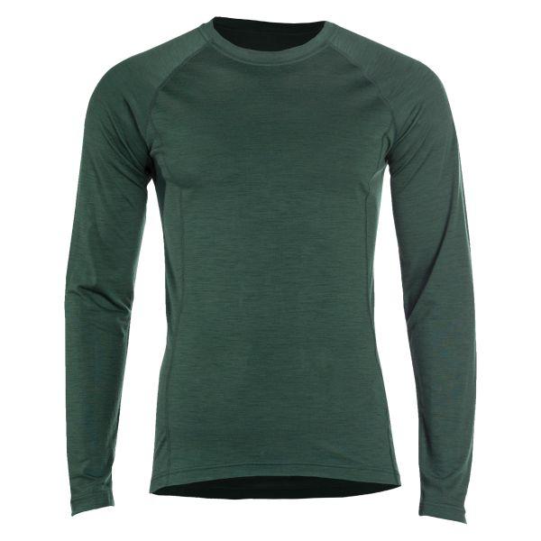 Shirt à manches longues en laine mérinos UF Pro vert olive