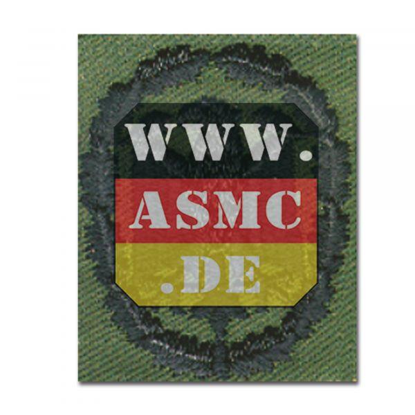 Insigne BW tissu badge de compétence olive/noir