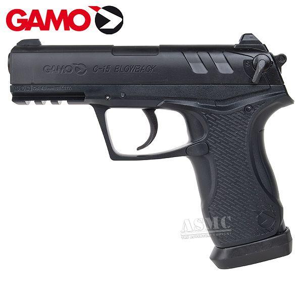 Pistolet à air comprimé Gamo C-15 BB & Diabolo 4,5 mm