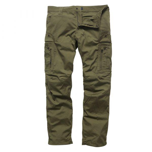 Vintage Industries Pantalon Blyth Technical Pants olive