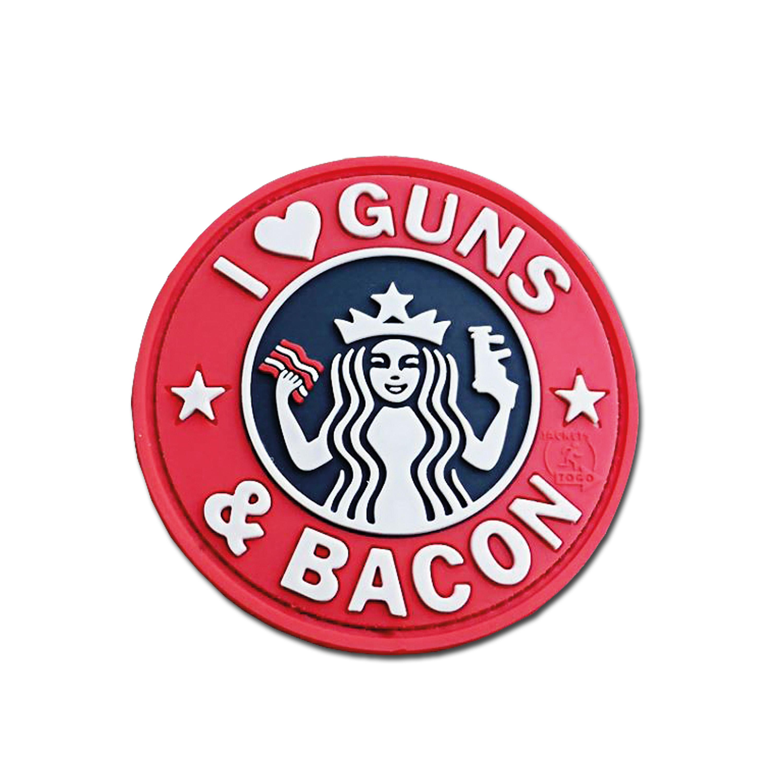 Patch 3D JTG Guns and Bacon fullcolor