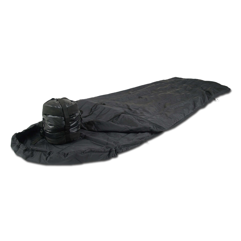 Sac de couchage britannique Mil-Tec Survival noir