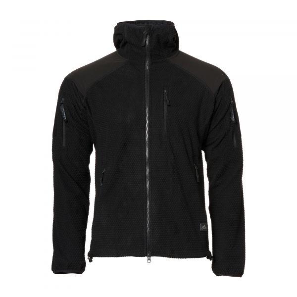 Helikon-Tex Veste Alpha Hoodie Grid Fleece noir