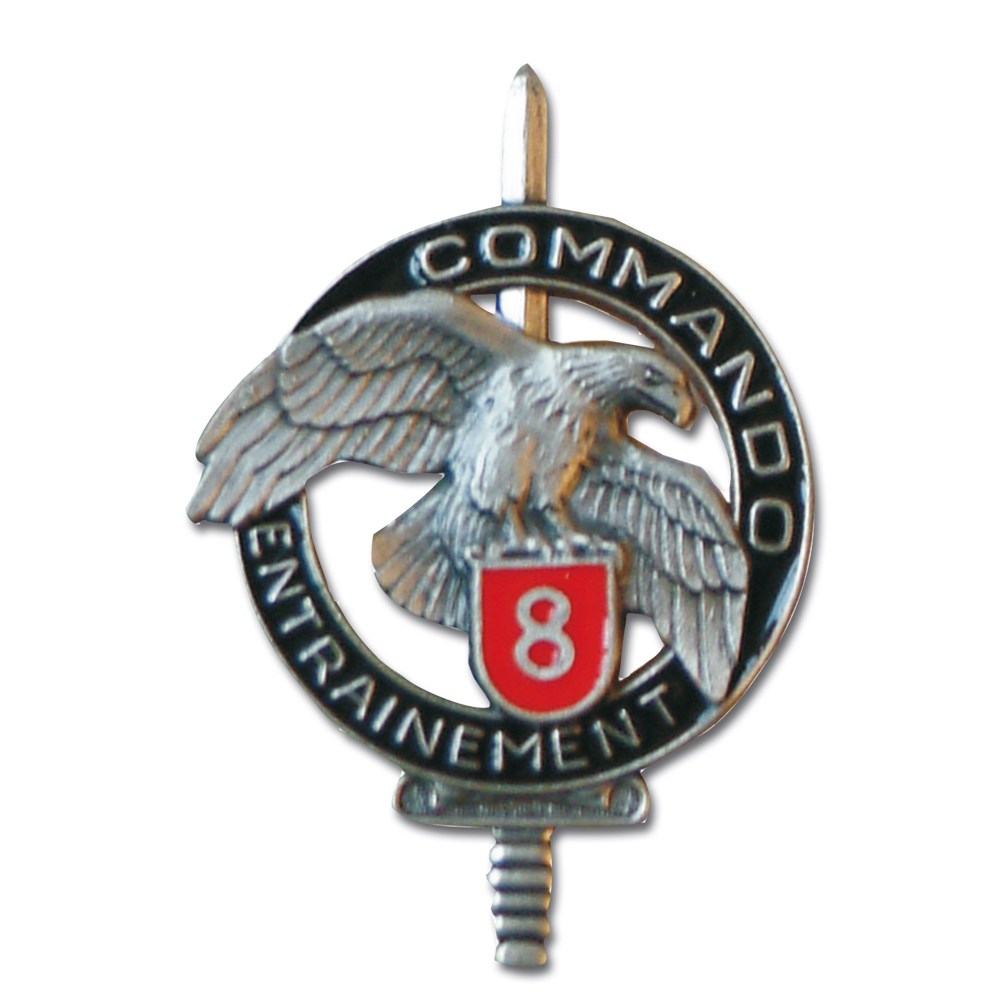 Insigne Français Commando CEC 8