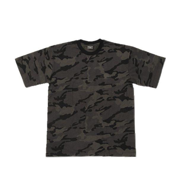 T-Shirt US de combat camo