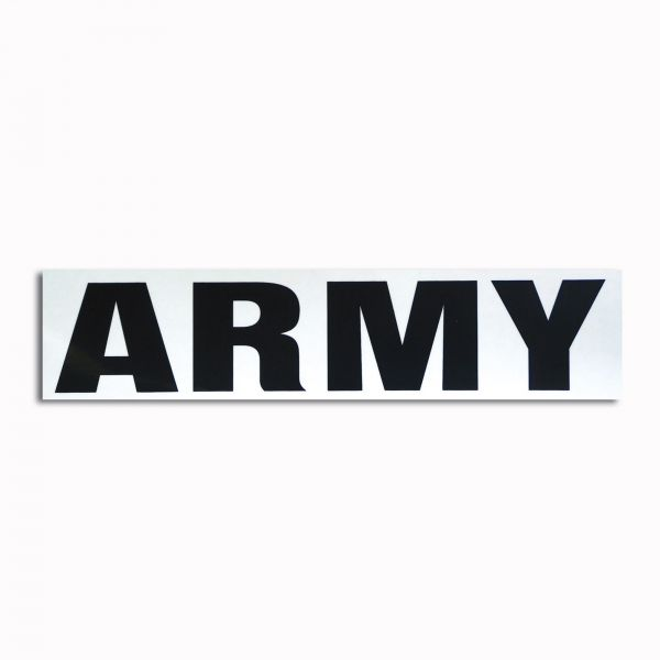 Autocollant transparent Army