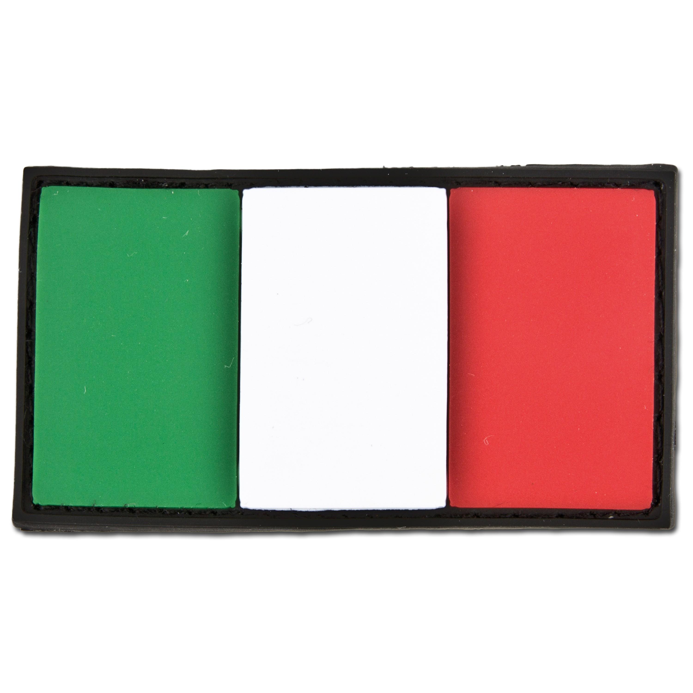 Patch 3D drapeau italien