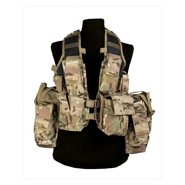 Gilet Commando RSA multitarn