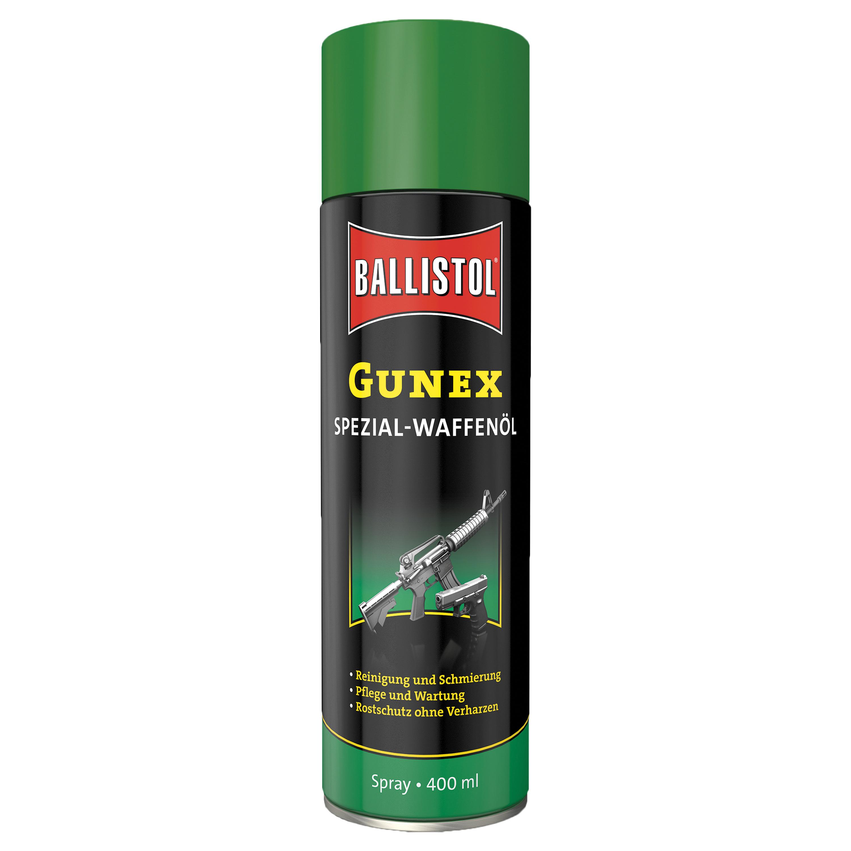 Huile pour arme Gunex Spray 400 ml