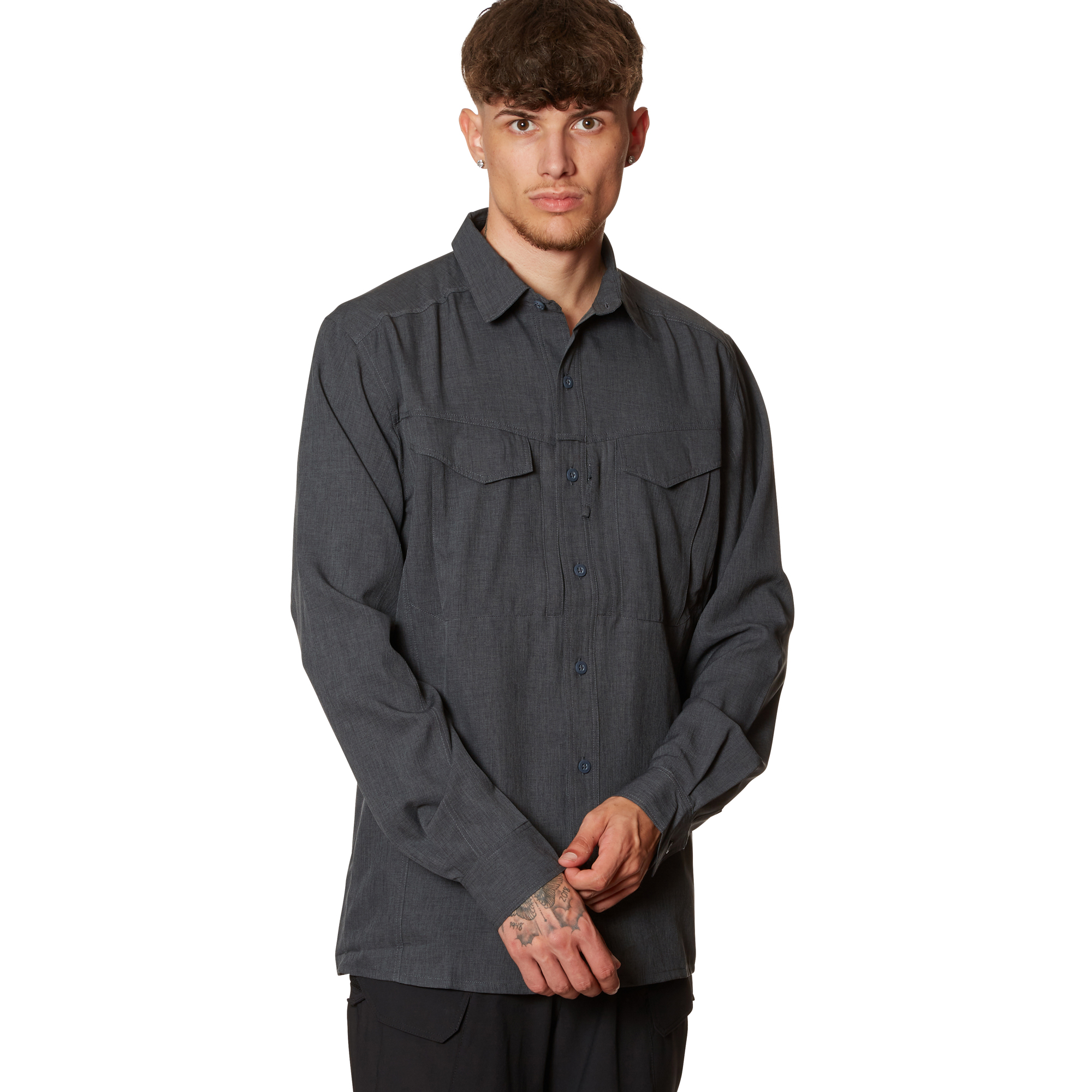 Helikon-Tex Chemise Defender MK2 Gentleman Shirt melange black g