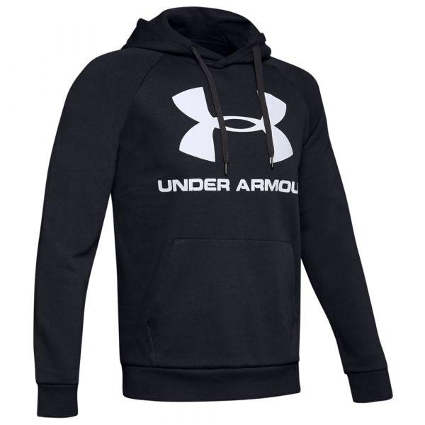 Under Armour Sweat Fleece Sportstyle Logo noir blanc