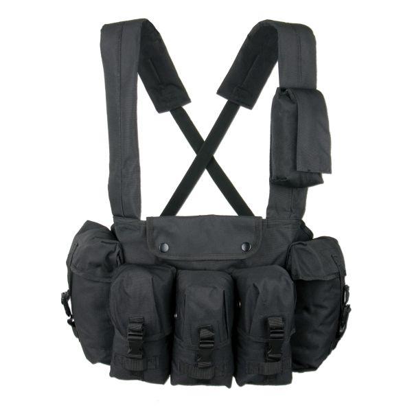 Chest Rigg 6 poches noir