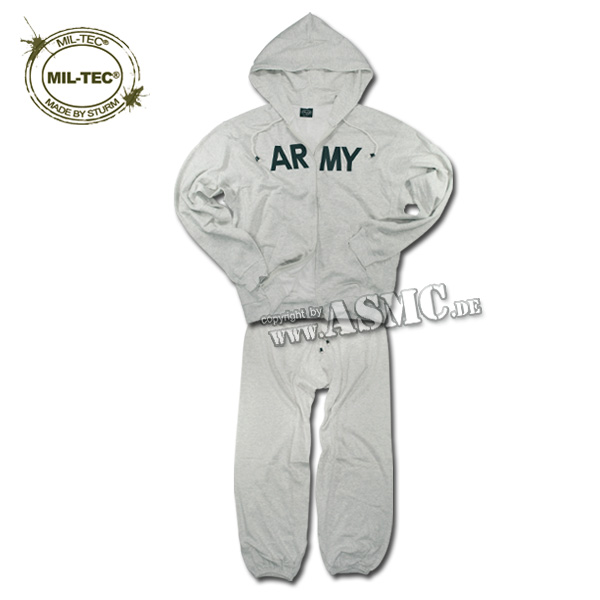 Ensemble Jogging ARMY gris