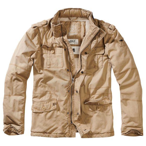 Brandit Veste Britannia Winter Jacket camel