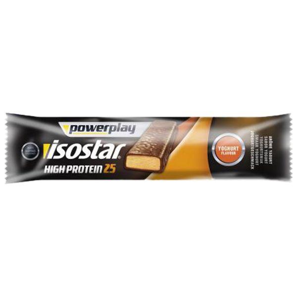 High Protein 25 Powerplay Isostar yaourt & fruits 35 g – 1 barre