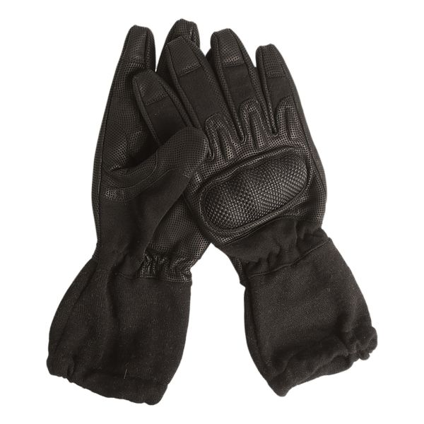 Gants Action Gloves Ignifugés avec Manchette noir