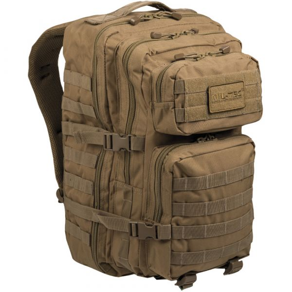Mil-Tec Sac à dos US Assault Pack II coyote