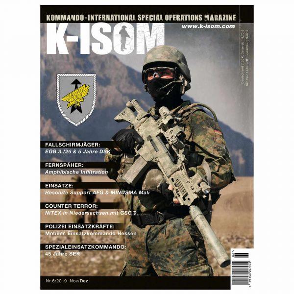Magazine Commando K-ISOM Édition 06-2019