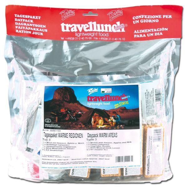 Travellunch ration région chaudeTyp 3